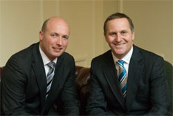 David Bennet (the one on the left)