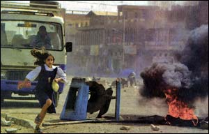 The effect of the war in Iraq on children