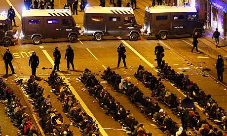 Copenhagen-arrested