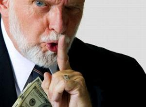 shush money