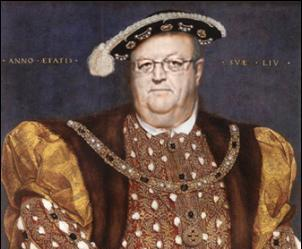 gerry brownlee as henry VIII