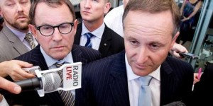 John Key Banks thick as thieves