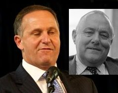 John Key morphing to muldoon