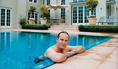 John Key Swimming Pool Metro 2005