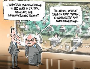 manufactured spin