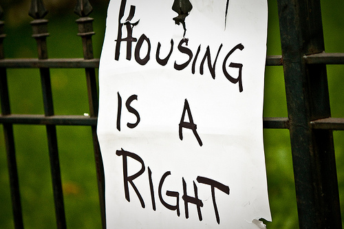 housing is a right
