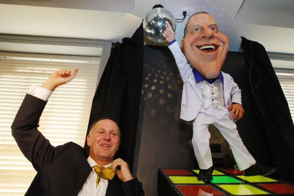john key backbencher puppet