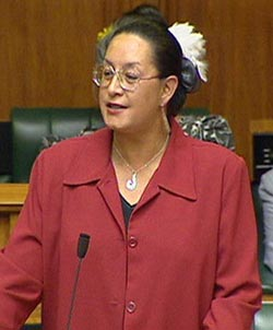 Ex-Labour MP Georgina Beyer