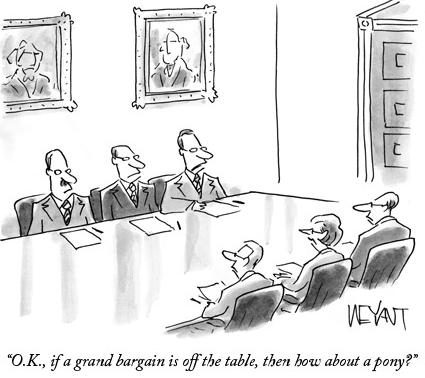 negotiation pony