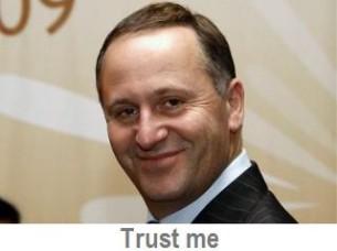john key trust me