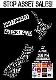 stop asset sales poster AKL 27 april 2013