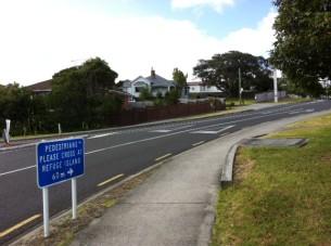Auckland Transport Blog - non-pedestrian friendly designs