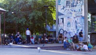 homeless Kiwis in Sydney Kiwi Park