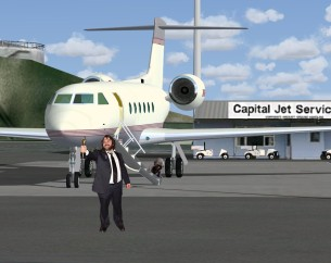 Jackson's older jet