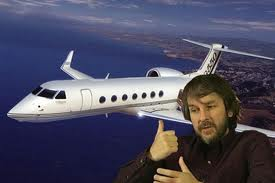 A jet like the one Peter Jackson owns