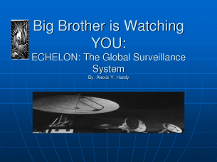 Echelon watching you