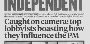 UK corporate lobbysists