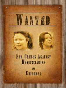 Wanted Poster Paula Bennett large