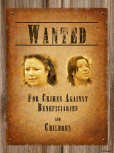 Wanted Poster Paula Bennett large