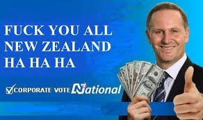 John Key Nat Billboard Corproate vote