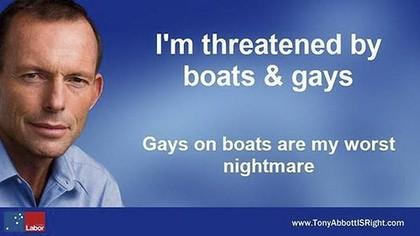 Tony Abbott billboard