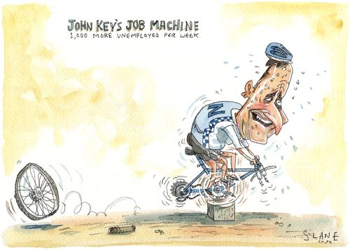 John Key's Job Machine
