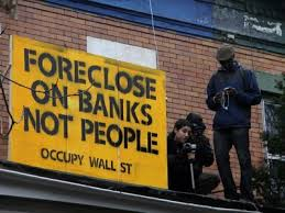 Foreclose on banks not people