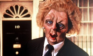 Margaret Thatcher Spitting Image puppet