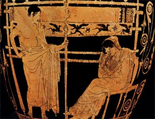 Telemachus and Penelope utexas