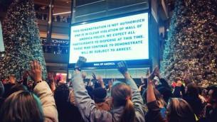 america-mall-protest