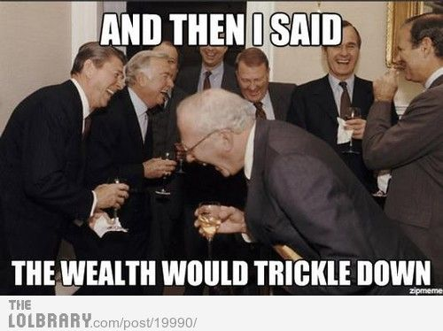 Image result for trickle down
