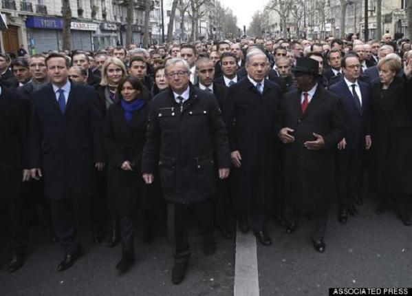 Charlie Hebdo world leaders