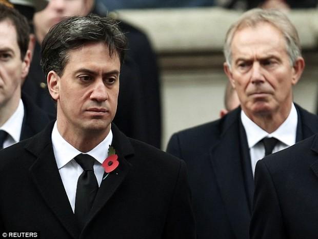 Ed Miliband Tony Blair