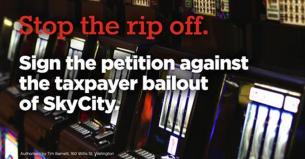 SkyCity bailout petition