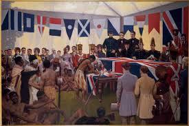 waitangi treaty signing