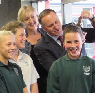Creepy John Key