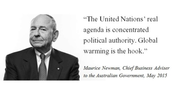 Maurice Newman climate change