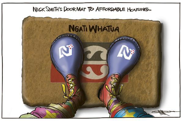 Nick Smith Ngati Whatua