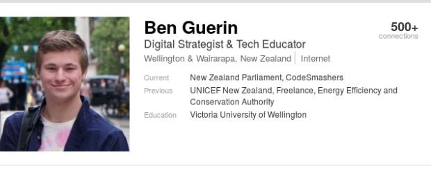 Ben Guerin - dickhead admin2