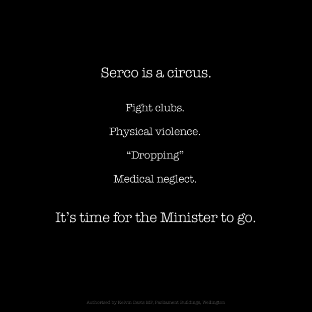 Serco is a circus