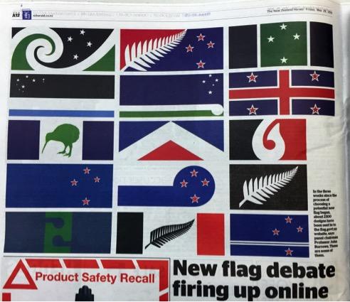 Paper Enzo flag