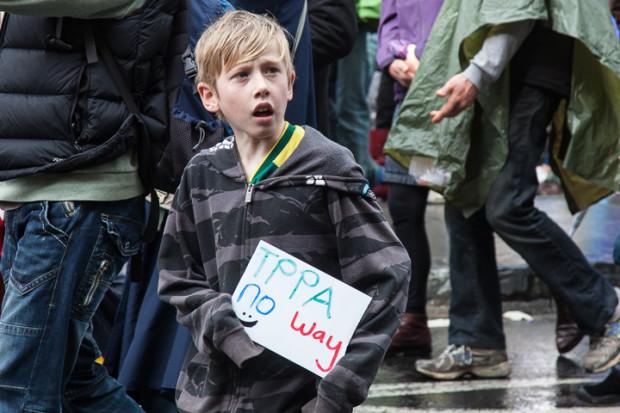 TPPA protest-9