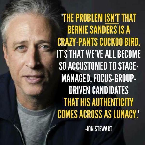 Jon Stewart authentic leaders