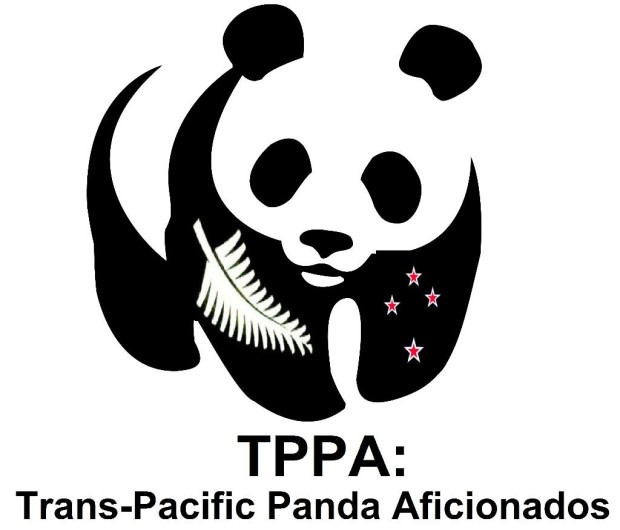 Panda flag