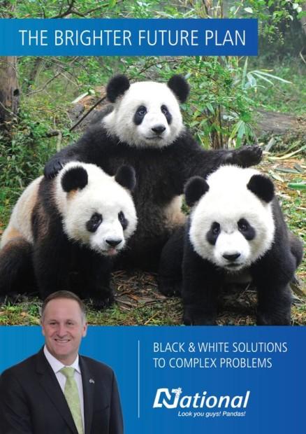 Pandas John Key