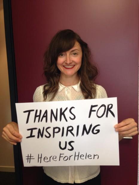Here for Helen4