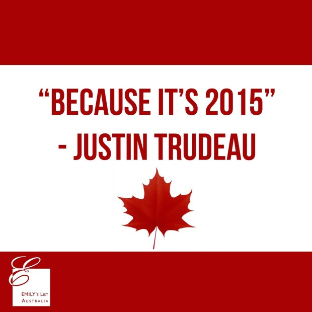 Justin Trudeau equality