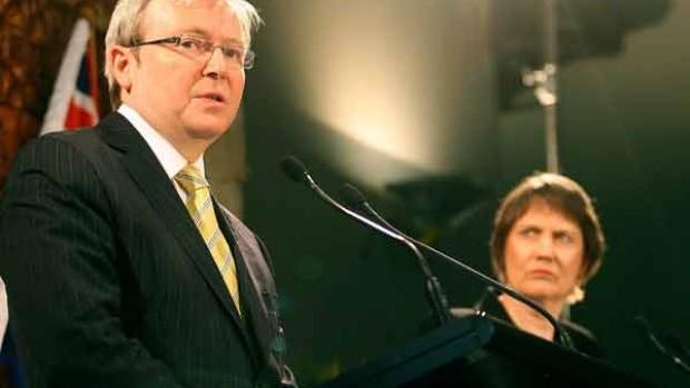 Helen Clark David Rudd