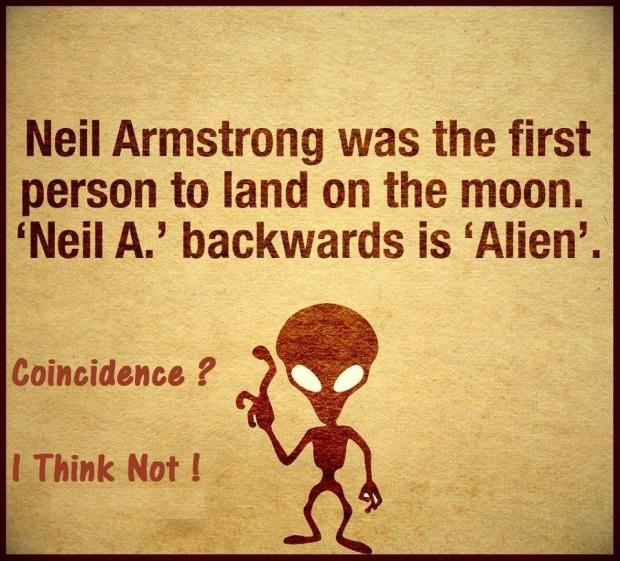 Neil Armstrong Alien