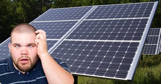 Solar panel republican